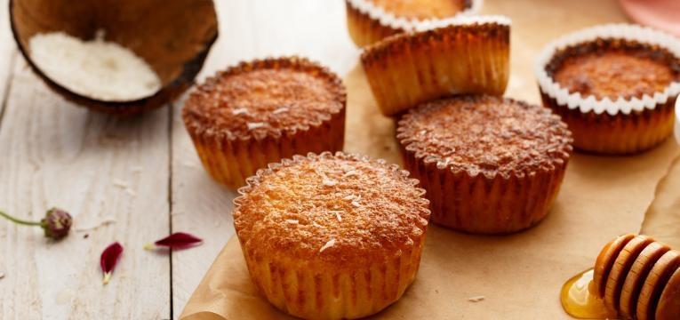 muffins de canela e noz