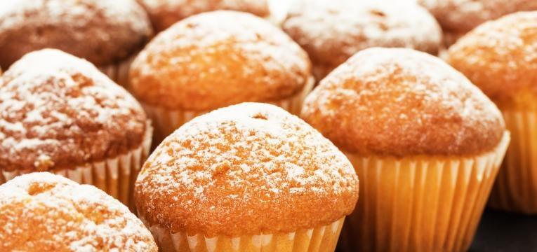 muffins de canela com limao