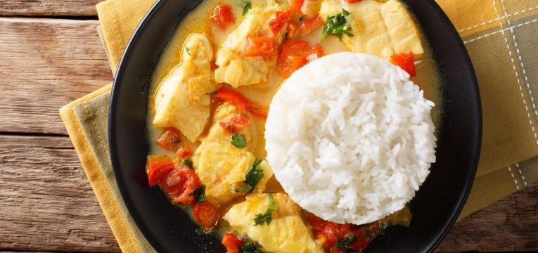 arroz de peixe completo