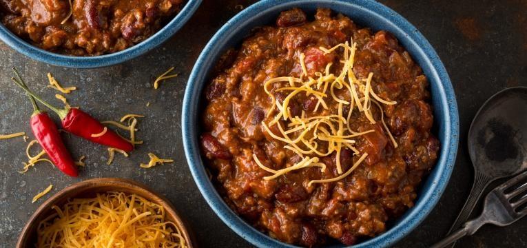 chili na bimby com carne