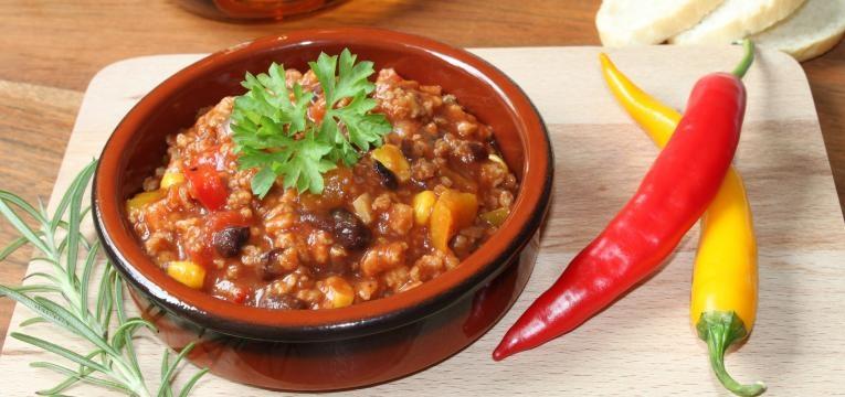 chili na bimby vegetariano