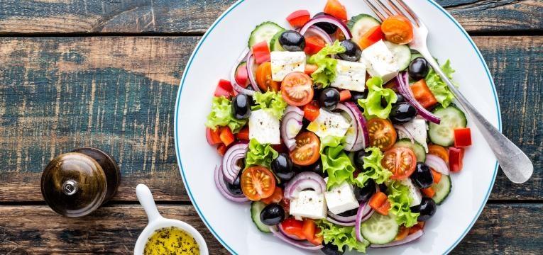 receitas para uma dieta equilibrada salada grega