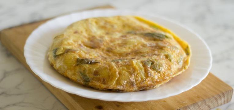 receitas simples para levar para o trabalho tortilha espanhola de legumes