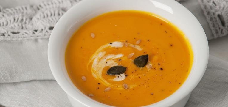 receitas simples para levar para o trabalho sopa de creme de cenoura laranja e gengibre