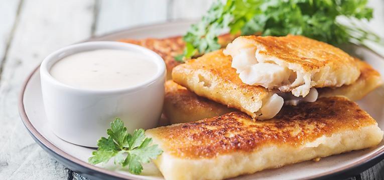 receitas económicas: filetes de pescada panados