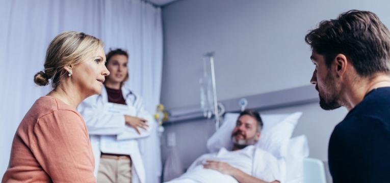 endoscopia com sedacao familiares e doente