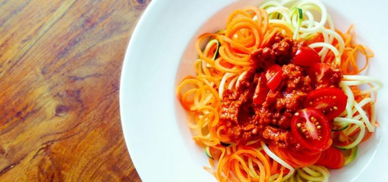 receitas vegetarianas simples: bolonhesa
