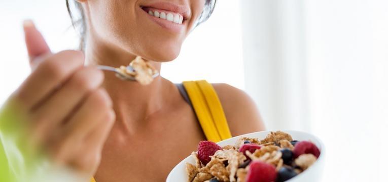 asma e alimentação: consumo de fibra