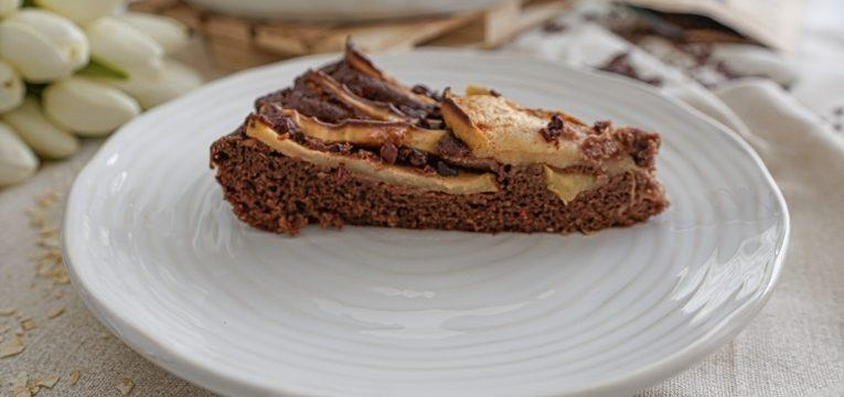 tarte de chocolate e maca