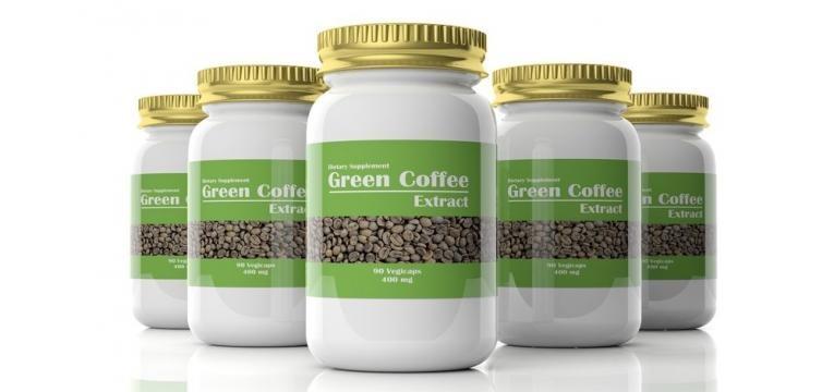 comprimidos de extrato de cafe verde