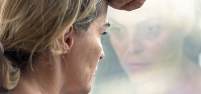 mulher em stress