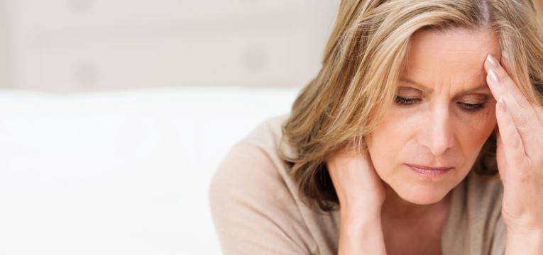 mulher stressada