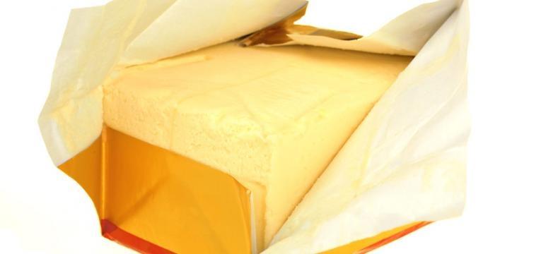 compra de manteiga ou margarina