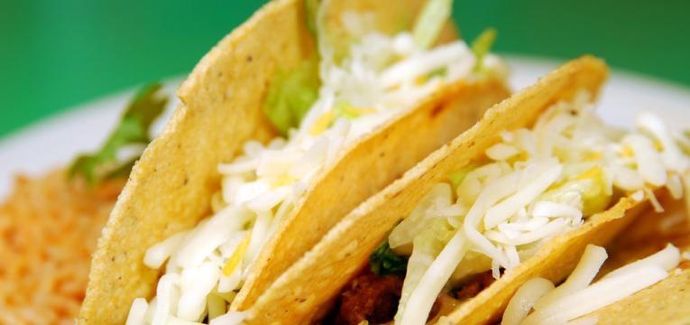 Tacos saudaveis de batata-doce