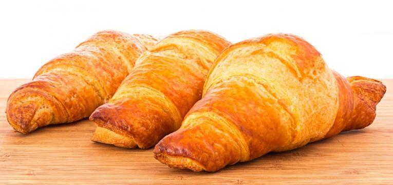 Croissants saudaveis sem gluten