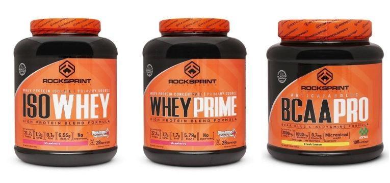 Proteina Whey e BCAAs