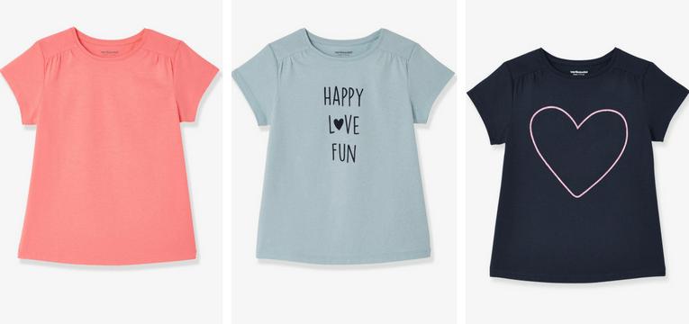 t-shirts meninas