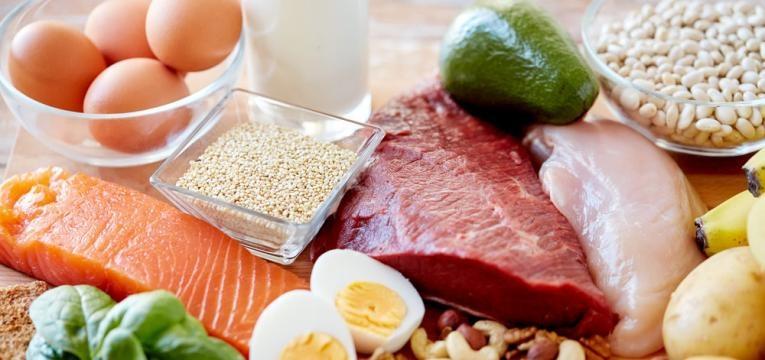 Carne, pescado e ovos