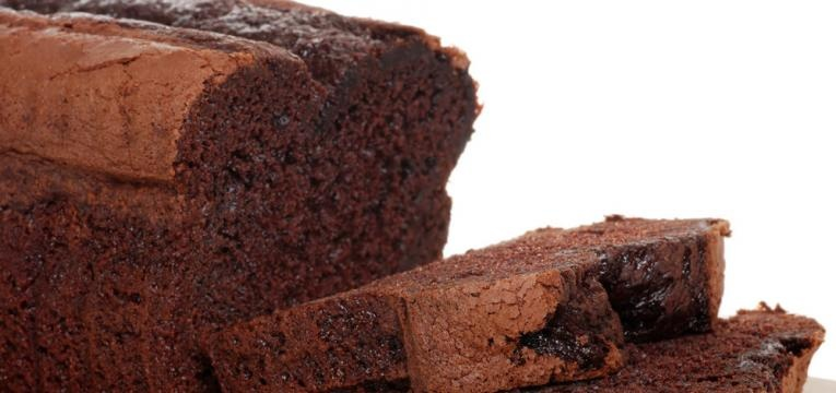 receitas com alfarroba e bolo de chocolate e gengibre