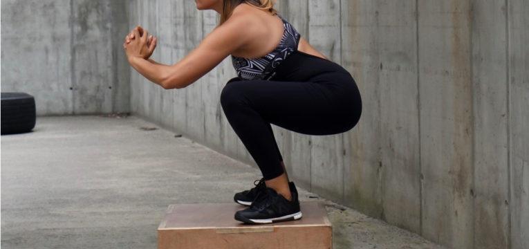 melhores exercicios para o dia-a-dia e salto para a caixa