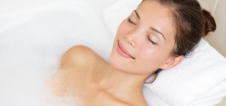 banhos relaxantes
