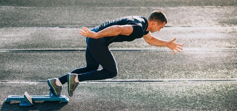 correr faz bem ao cerebro e corrida sprint