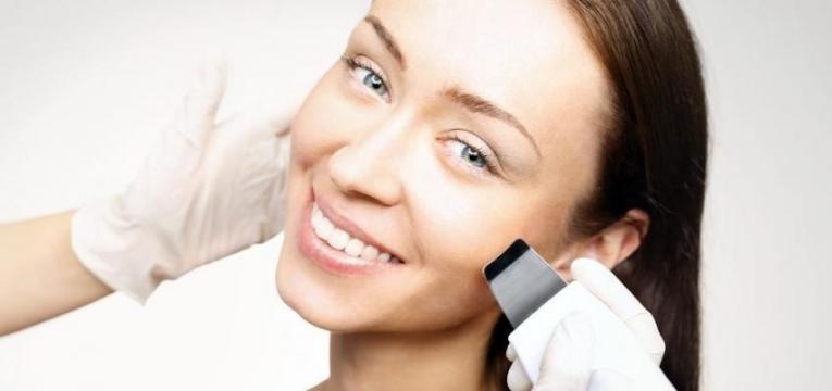 Peeling Facial Ultrassonico