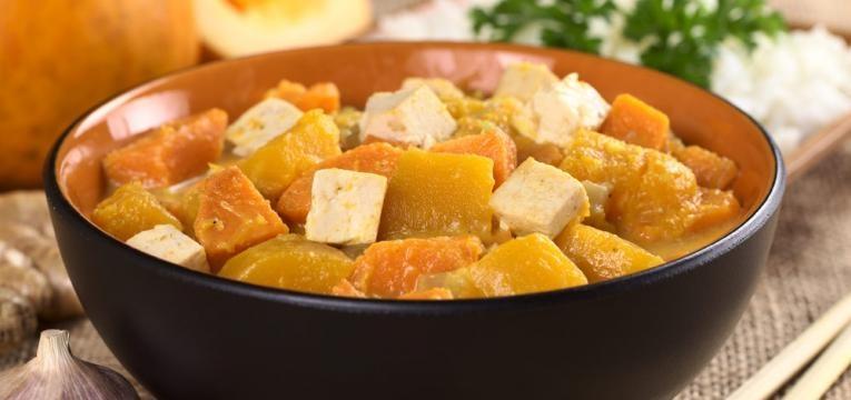 Tofu a Bras com batata-doce