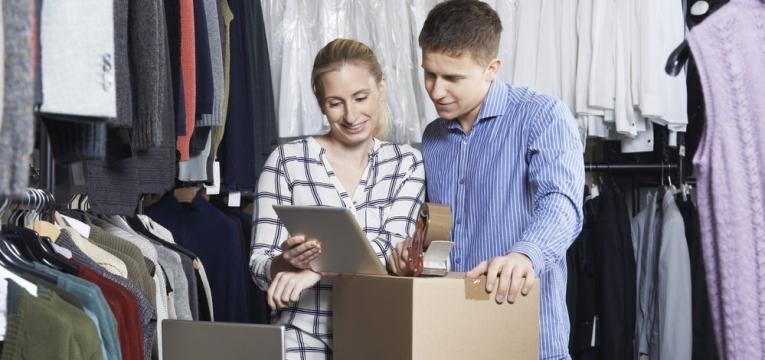 compra de roupa