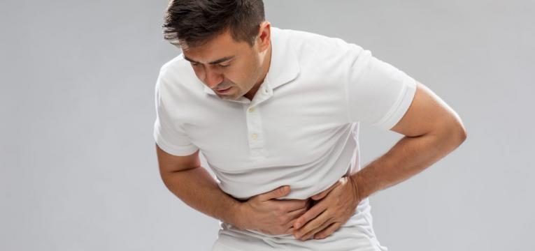 fortes dores de estomago