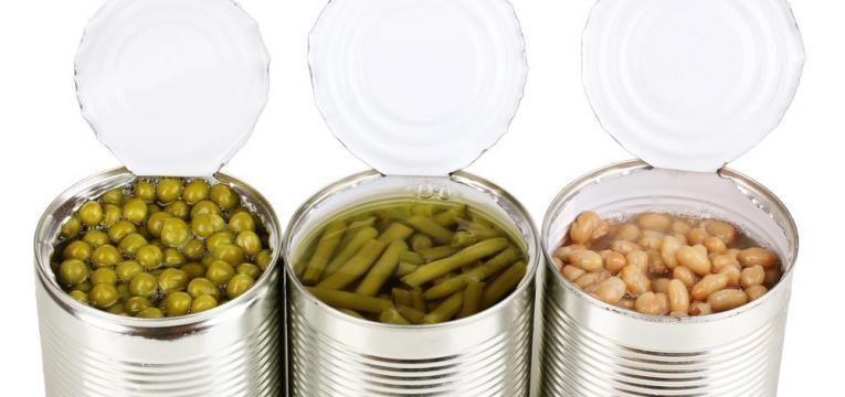 enlatados legumes