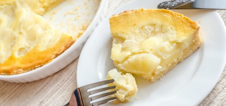 Semi-frio de ananas