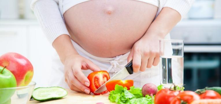 gravida e alimentacao