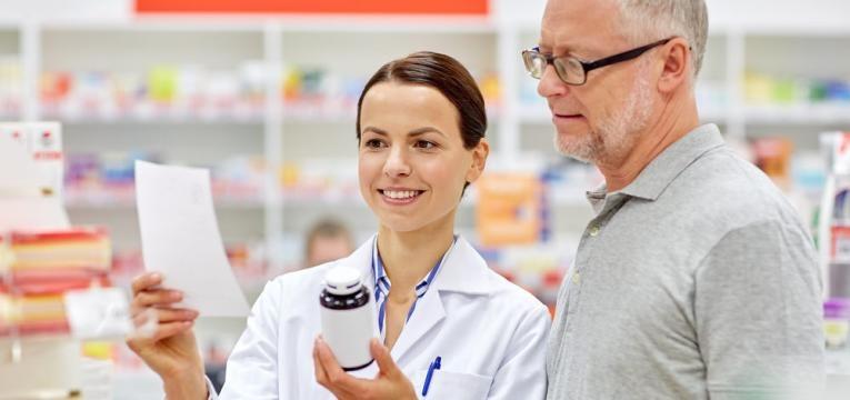 prescrição medica e farmaceutica