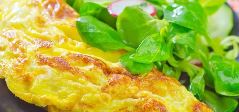 Omelete a vapor na Bimby