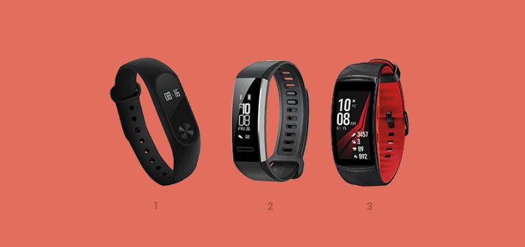 pulseiras e monitores de atividade