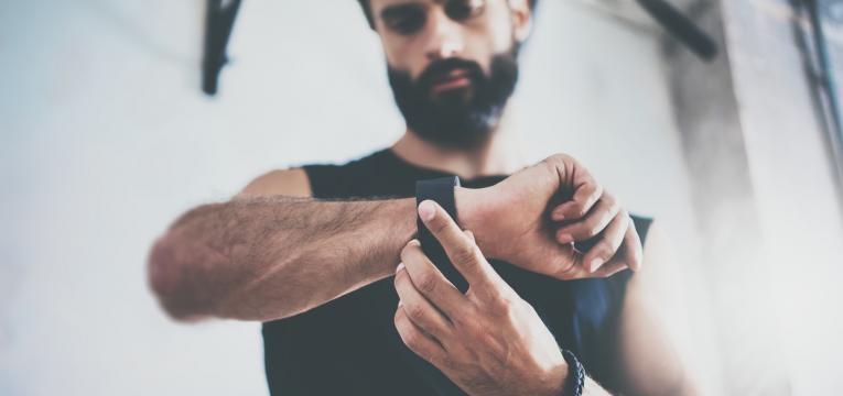 monitorizar o treino fisico