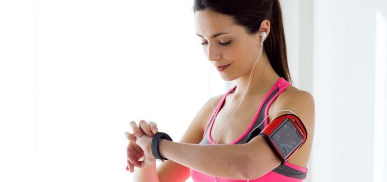 Treino de endurance e medidor de frequencia cardiaca