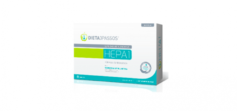HEPA1 produtos da dieta 3 passos