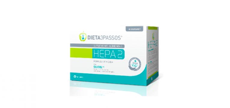 HEPA2 produtos da dieta 3 passos