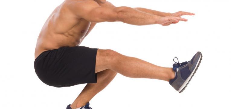 agachamento unilateral em exercícios de agachamento