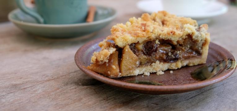 Tarte de Maca (Sem acucar refinado e sem gluten)