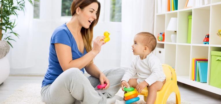 brincar com o bebe