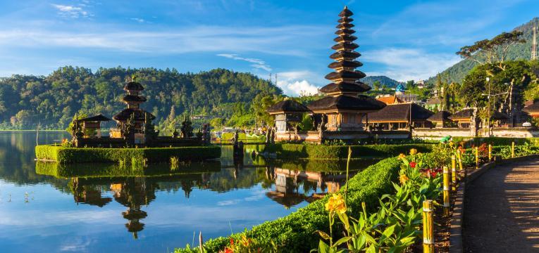Bali com destinos de férias