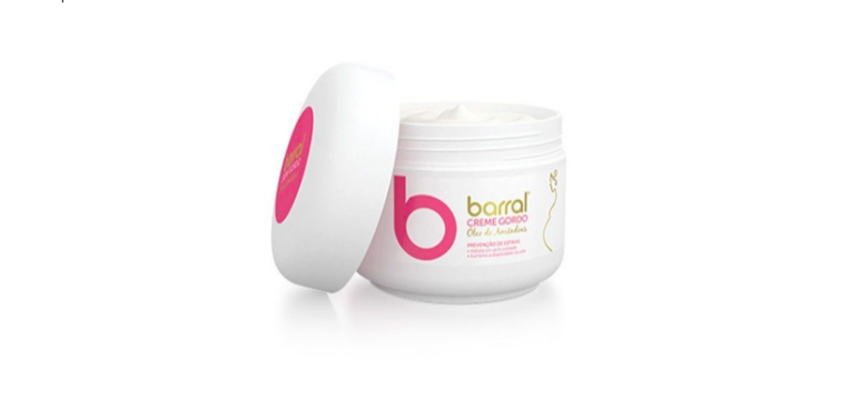 Barral - Creme gordo oleo de amendoas