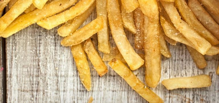 batatas fritas no verao