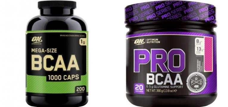 BCAA optimim nutrition