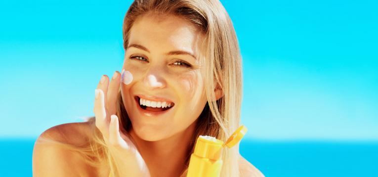 protetor solar de rosto
