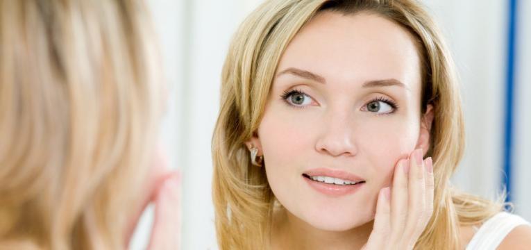 melhoria do aspeto da pele