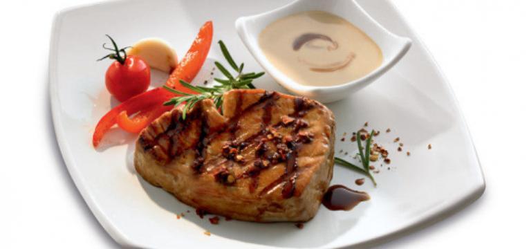 Bifes de atum com Teriyaki picante